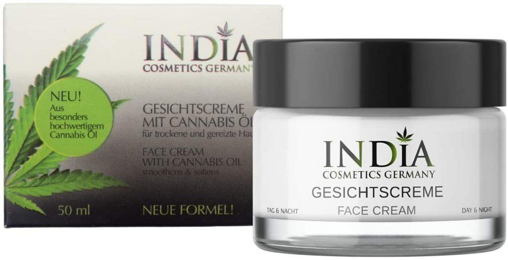 Crème à l'huile de CBD contre la dermatite atopique - India Cosmetics Germany