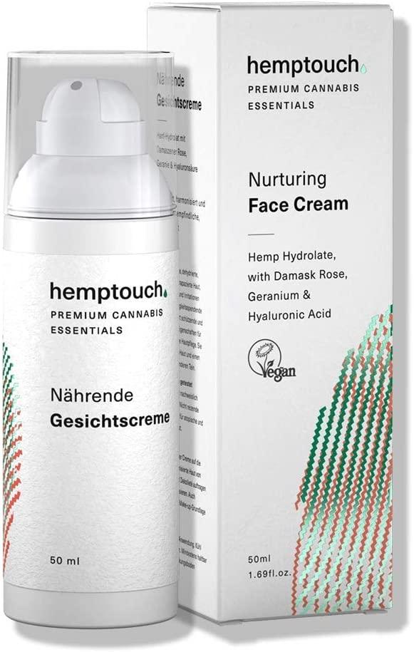 Crème pour le visage au chanvre biologique - Hemptouch