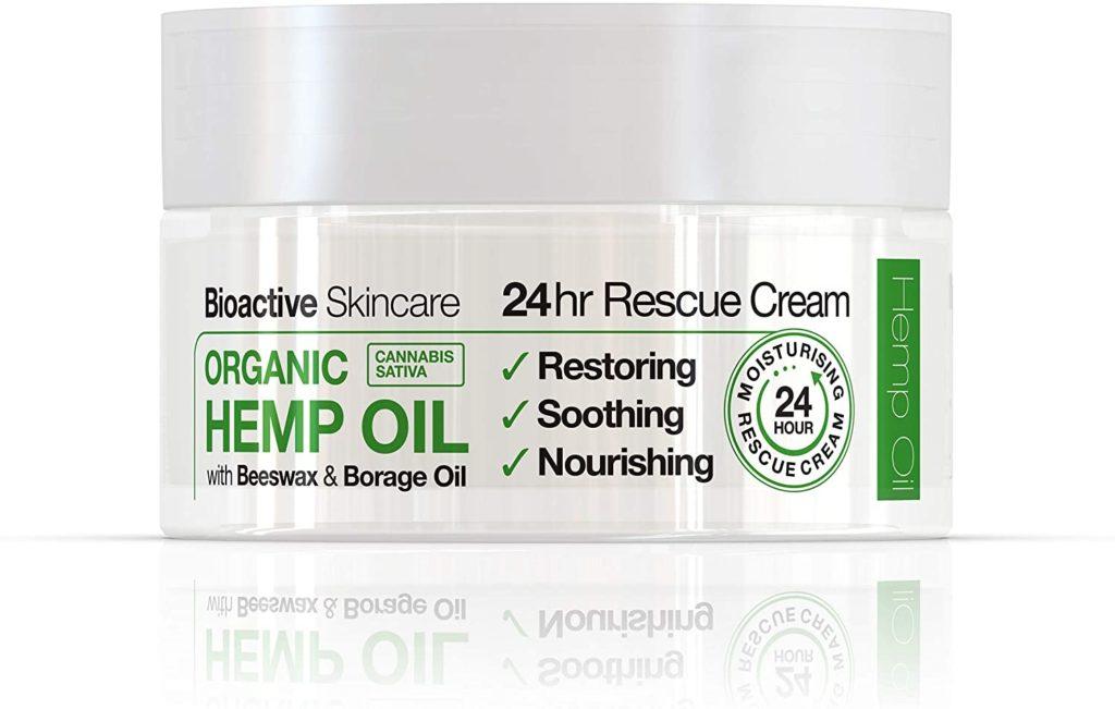 Crème au CBD hydratante, Rescue 24h - Dr. Organic