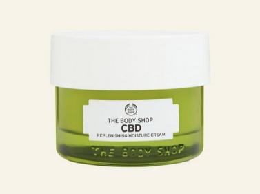 crème hydratante régénérante CBD, The Body Shop